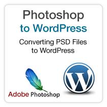 Photoshope Files to a WordPress Theme