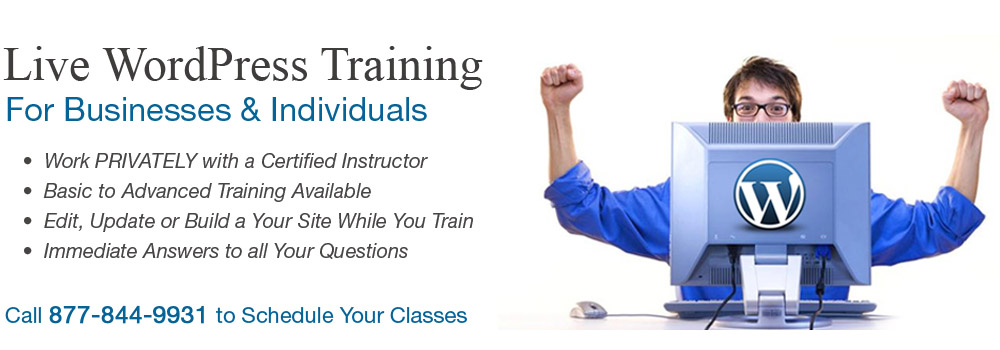 Live WordPress Training Courses