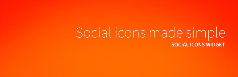 best social media following plugins social icons widget