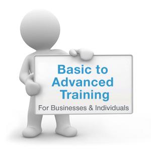 Basic to advanced wordpress training available.