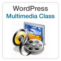 WordPress Multimedia Class