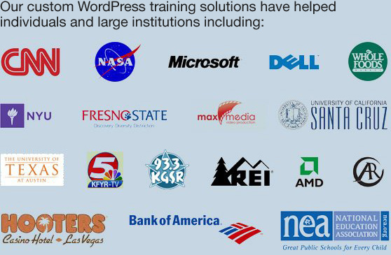WordPress Training Solutions